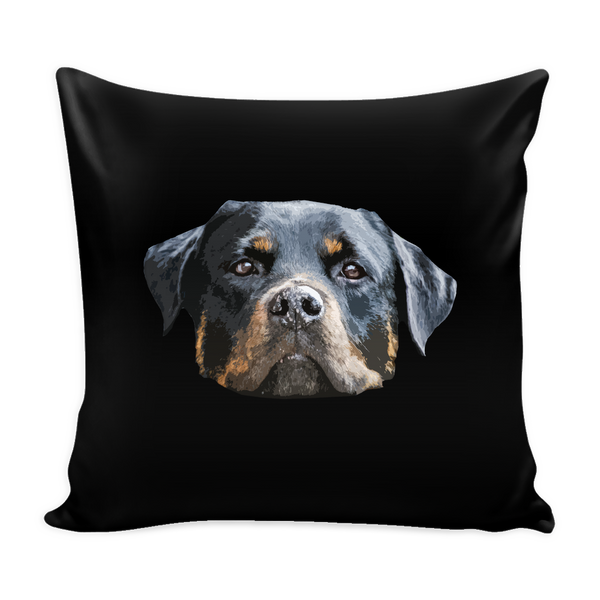 Rottweiler Dog Pillow Cover - Rottweiler Accessories - TeeAmazing - 1