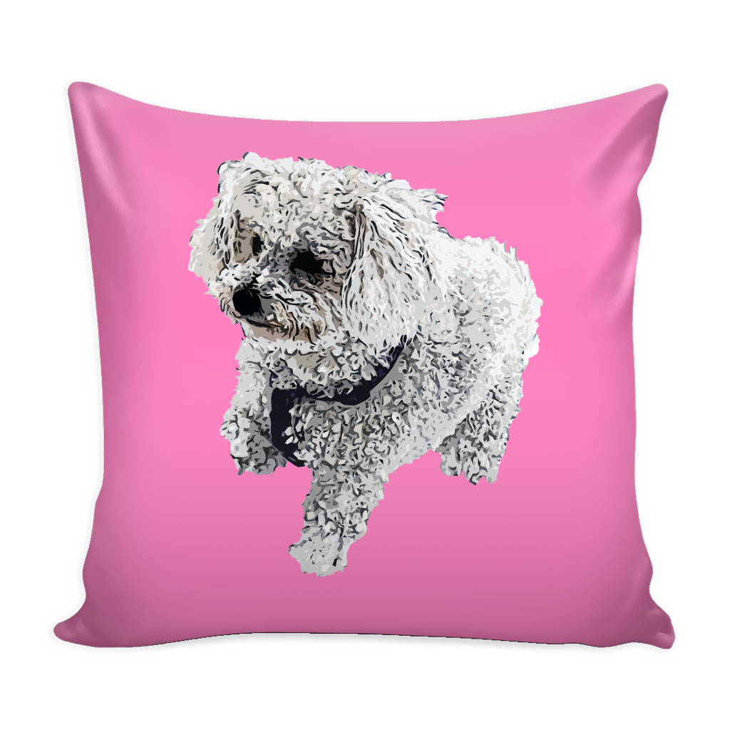 Bichon Frise Dog Pillow Cover - Bichon Frise Accessories - TeeAmazing
