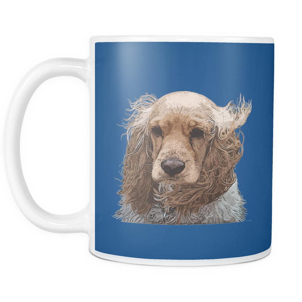 English Cocker Spaniel Dog Mugs & Coffee Cups - English Cocker Spaniel Coffee Mugs - TeeAmazing
