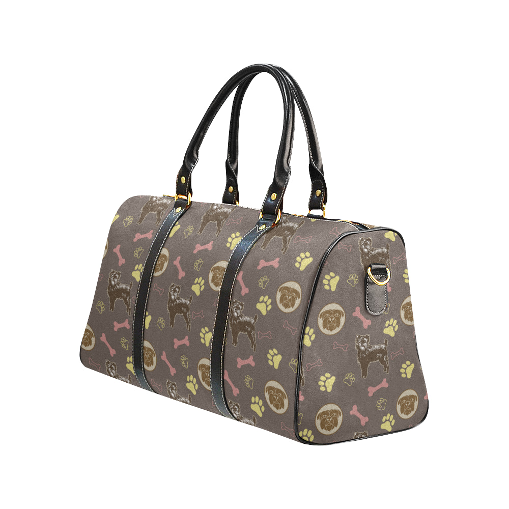 Affenpinschers Pattern New Waterproof Travel Bag/Small - TeeAmazing