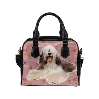 Tibetan Terrier Shoulder Handbag - TeeAmazing