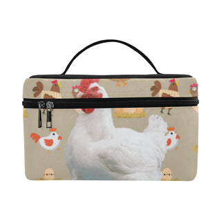 Chicken Lover Cosmetic Bag/Large - TeeAmazing