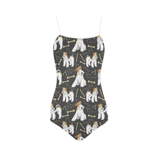 Wire Hair Fox Terrier Strap Swimsuit - TeeAmazing