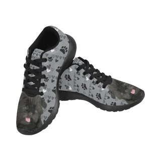 Affenpinschers Black Sneakers for Women - TeeAmazing