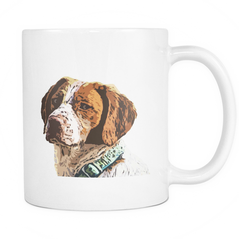 Brittany Spaniel Dog Mugs & Coffee Cups - Brittany Spaniel Coffee Mugs - TeeAmazing
