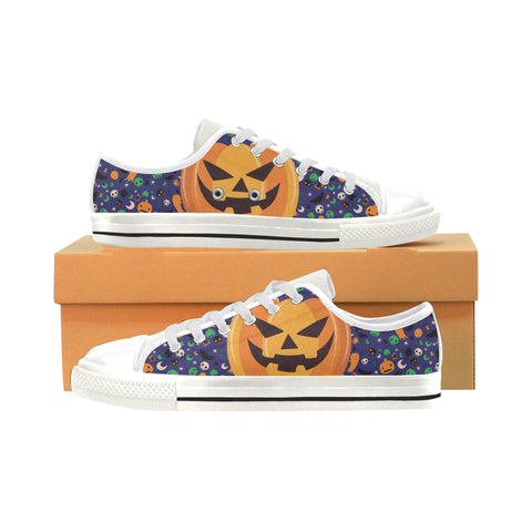 Halloween Pumpkin Print Running Shoes for Kids Casual Comfortable Sneakers Running Shoes