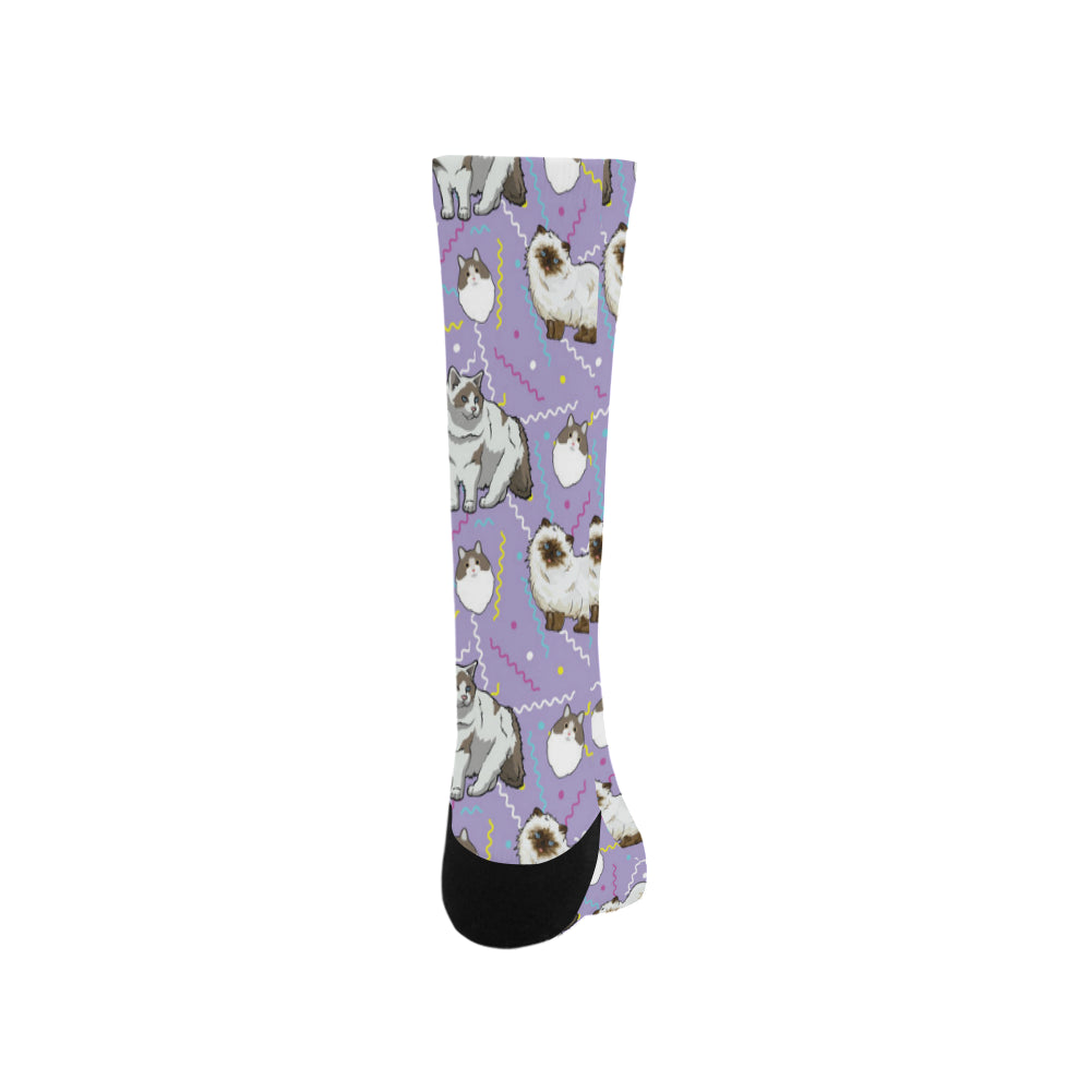 Ragdoll Trouser Socks - TeeAmazing
