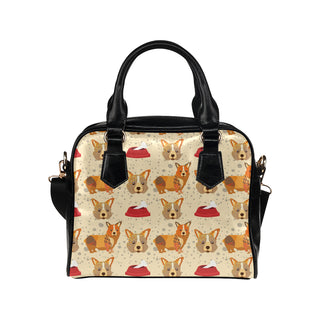 Corgi Pattern Shoulder Handbag - TeeAmazing