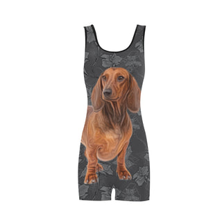 Dachshund Lover Classic One Piece Swimwear - TeeAmazing