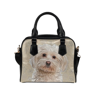 Maltese Lover Shoulder Handbag - TeeAmazing
