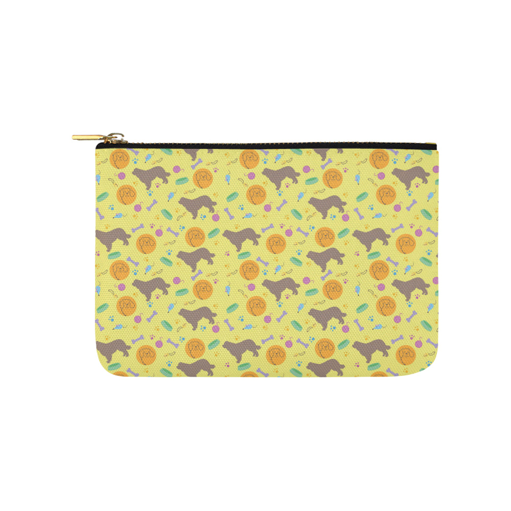 Newfoundland Pattern Carry-All Pouch 9.5x6 - TeeAmazing