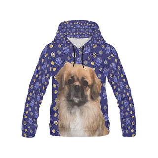 Pekingese Dog All Over Print Hoodie for Women (USA Size) (Model H13) - TeeAmazing