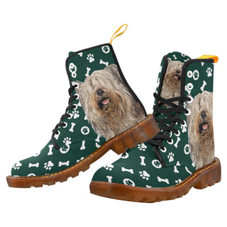 Skye Terrier Black Boots For Women - TeeAmazing