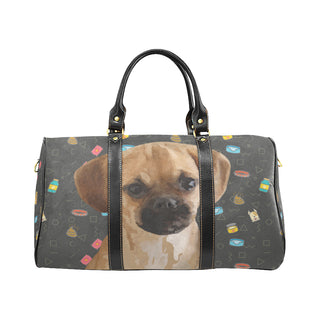 Puggle Dog New Waterproof Travel Bag/Small (Model 1639) - TeeAmazing