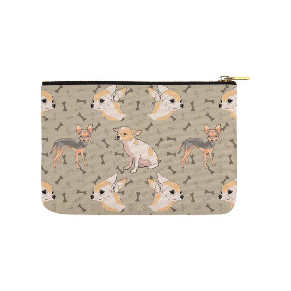 Chihuahua Carry-All Pouch 9.5x6 - TeeAmazing