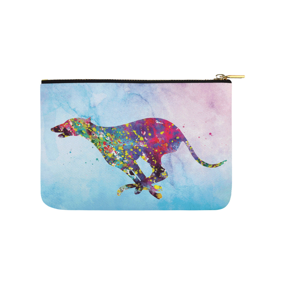 Greyhound Running No.1 Carry-All Pouch 9.5x6 - TeeAmazing