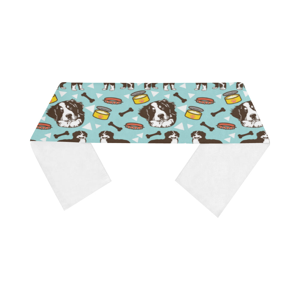 Bernese Mountain Pattern Sports Scarves 14x62 - TeeAmazing