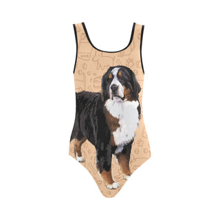 Bernese Mountain Vest One Piece Swimsuit - TeeAmazing