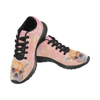 Chihuahua Lover Black Sneakers Size 13-15 for Men - TeeAmazing