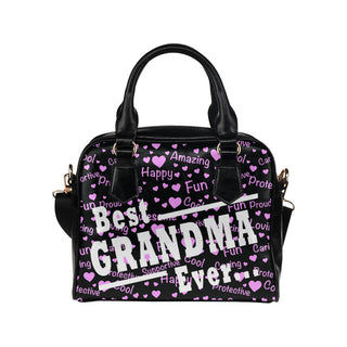 Best Grandma Ever Shoulder Handbag - TeeAmazing
