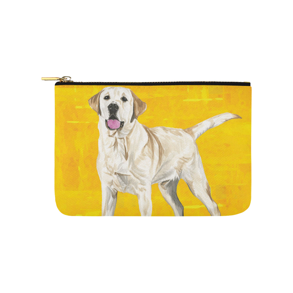 Labrador Retriever Water Colour No.1 Carry-All Pouch 9.5x6 - TeeAmazing