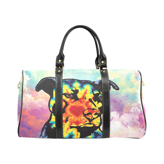 Pit Bull Pop Art No.1 New Waterproof Travel Bag/Large - TeeAmazing