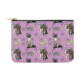 Balinese Cat Carry-All Pouch 12.5x8.5 - TeeAmazing