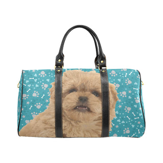 Peekapoo Dog New Waterproof Travel Bag/Small (Model 1639) - TeeAmazing