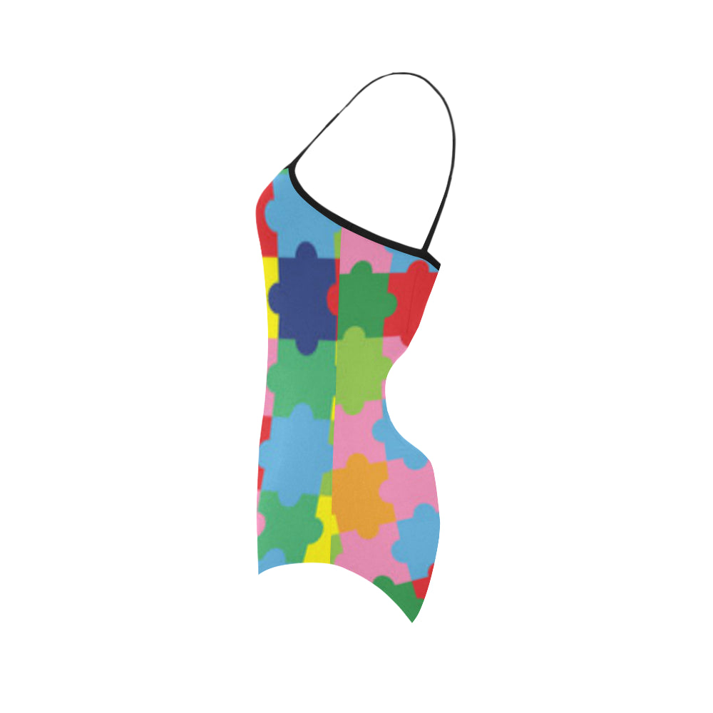 Autism Strap Swimsuit - TeeAmazing