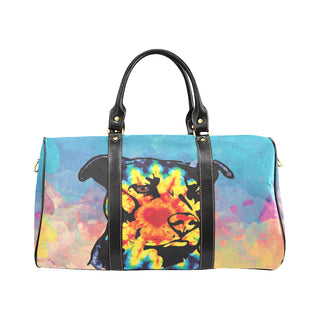 Pit Bull Pop Art No.2 New Waterproof Travel Bag/Large - TeeAmazing