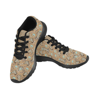Whippet Black Sneakers for Women - TeeAmazing