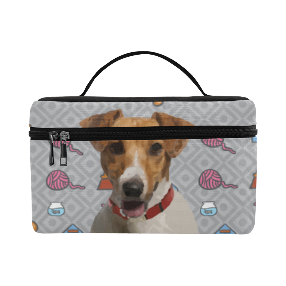 cc63d544b2b6 Jack Russell Terrier Cosmetic Bag/Large