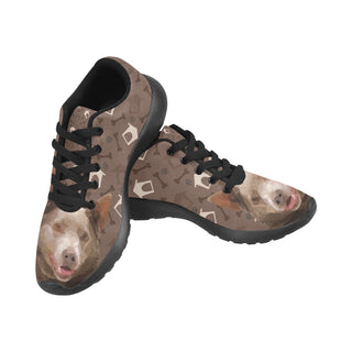 Australian Kelpie Dog Black Sneakers Size 13-15 for Men - TeeAmazing