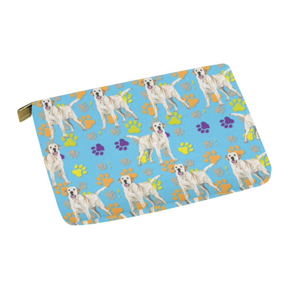 Labrador Retriever Water Colour Pattern No.1 Carry-All Pouch 12.5x8.5 - TeeAmazing