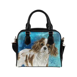 Cavalier King Charles Spaniel Water Colour No.1 Shoulder Handbag - TeeAmazing