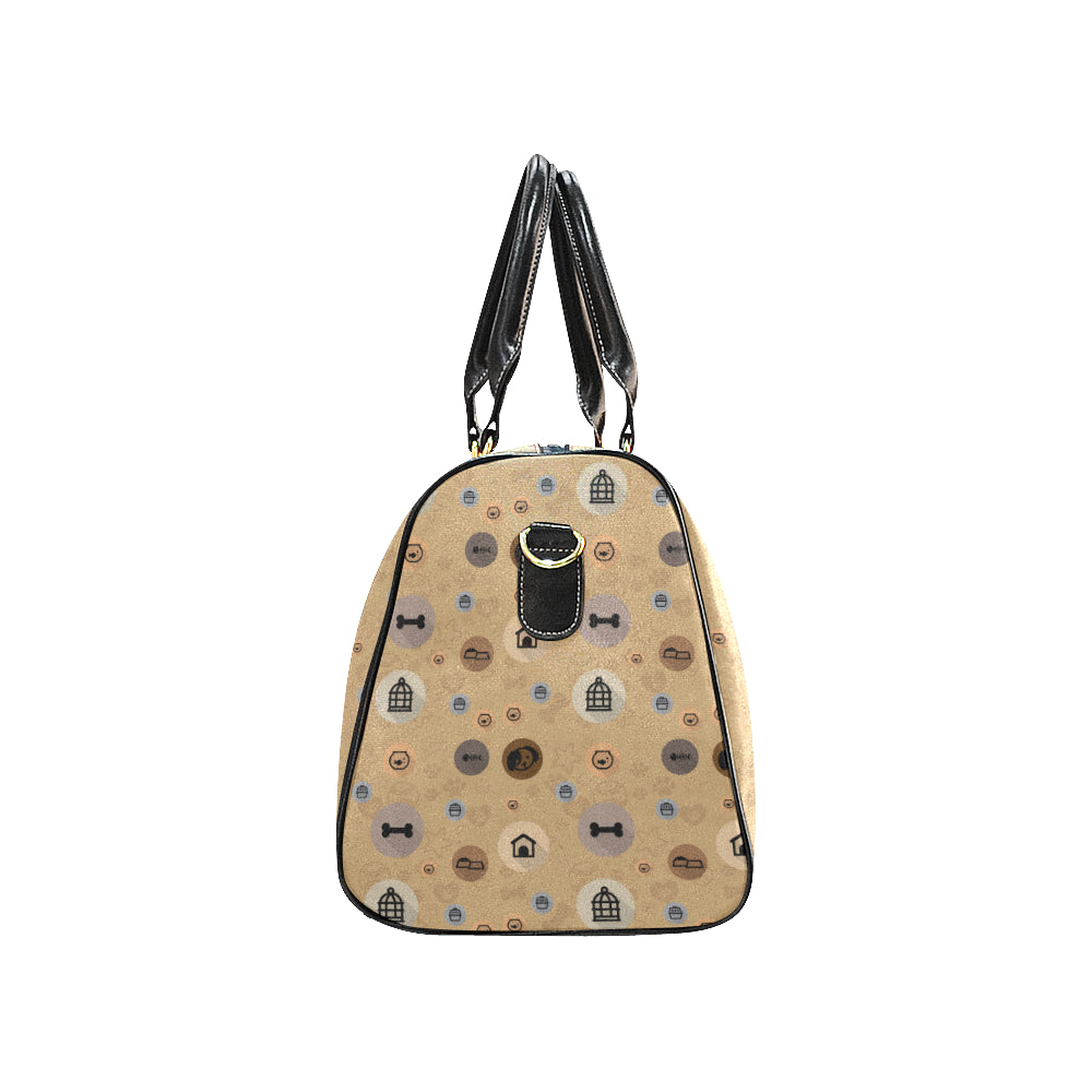Miniature Pinscher Dog New Waterproof Travel Bag/Large - TeeAmazing