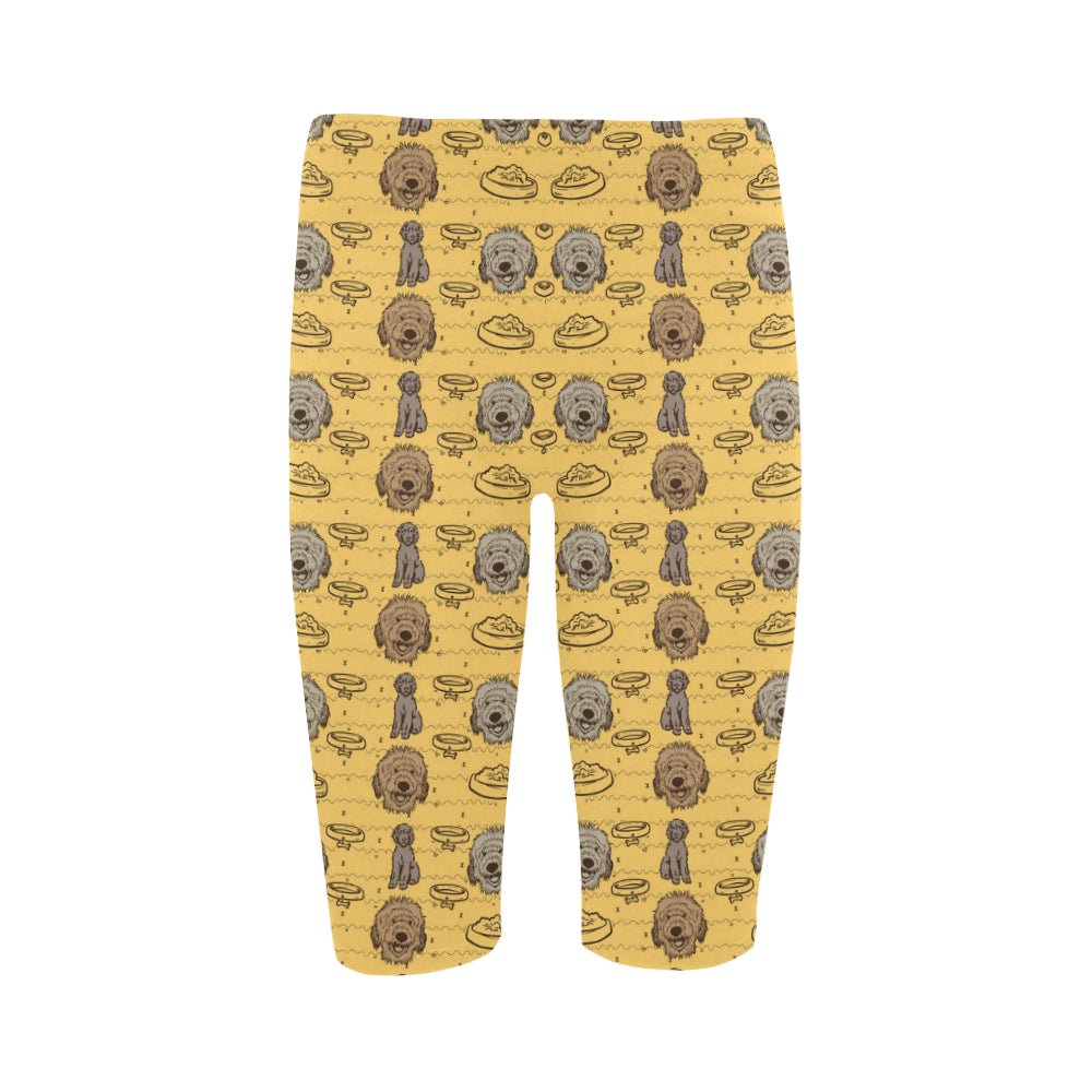 Australian Goldendoodle Hestia Cropped Leggings - TeeAmazing