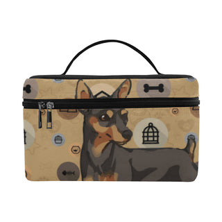 Miniature Pinscher Dog Cosmetic Bag/Large - TeeAmazing