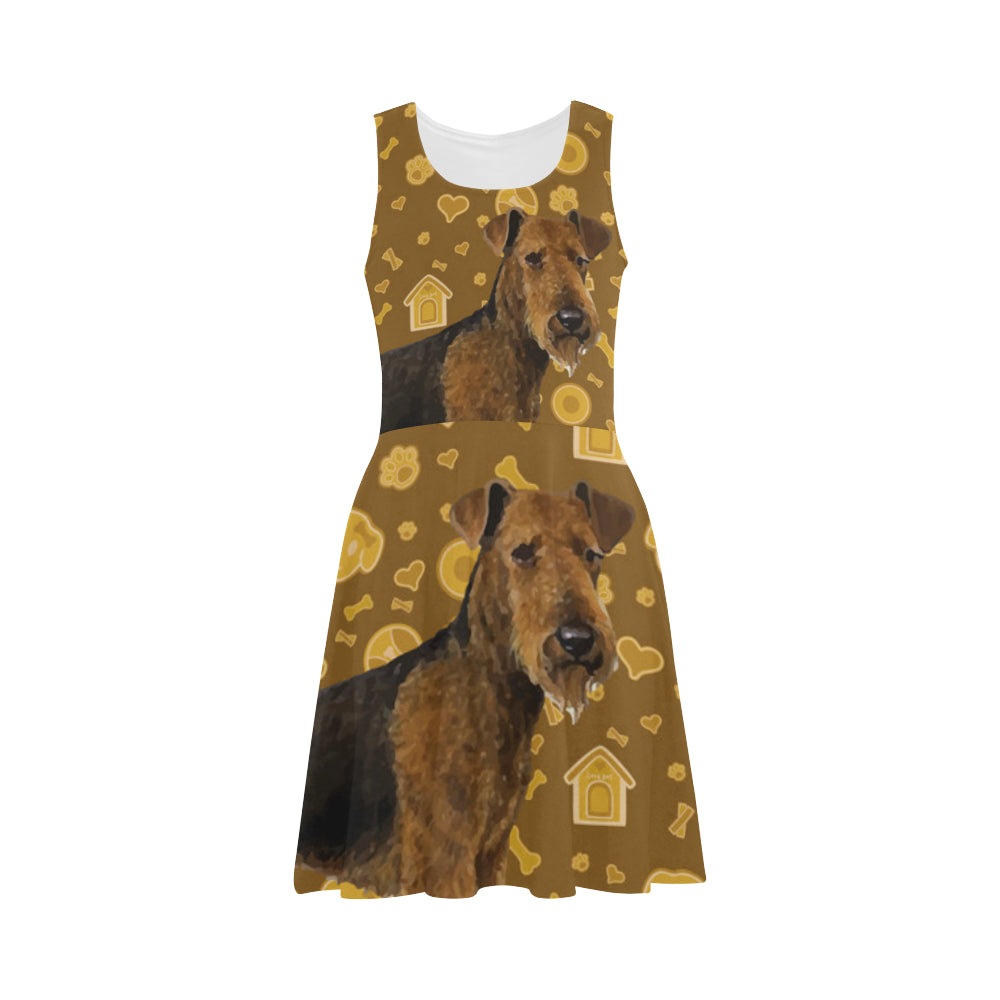 Welsh Terrier Dog Atalanta Sundress - TeeAmazing