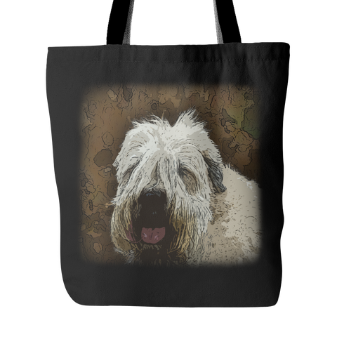 Soft Coated Wheaten Terrier Dog Tote Bags - Soft Coated Wheaten Terrier Bags - TeeAmazing - 1