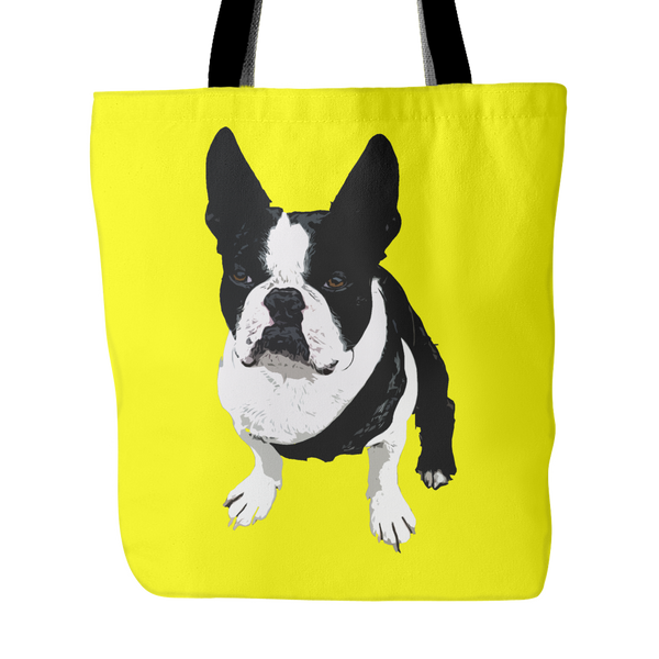 Boston Terrier Dog Tote Bags - Boston Terrier Bags - TeeAmazing - 4