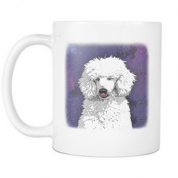 Painting Poodle Dog Mugs & Coffee Cups - Poodle Coffee Mugs - TeeAmazing - 2