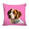 Brittany Spaniel Dog Pillow Cover - Brittany Spaniel Accessories - TeeAmazing - 4