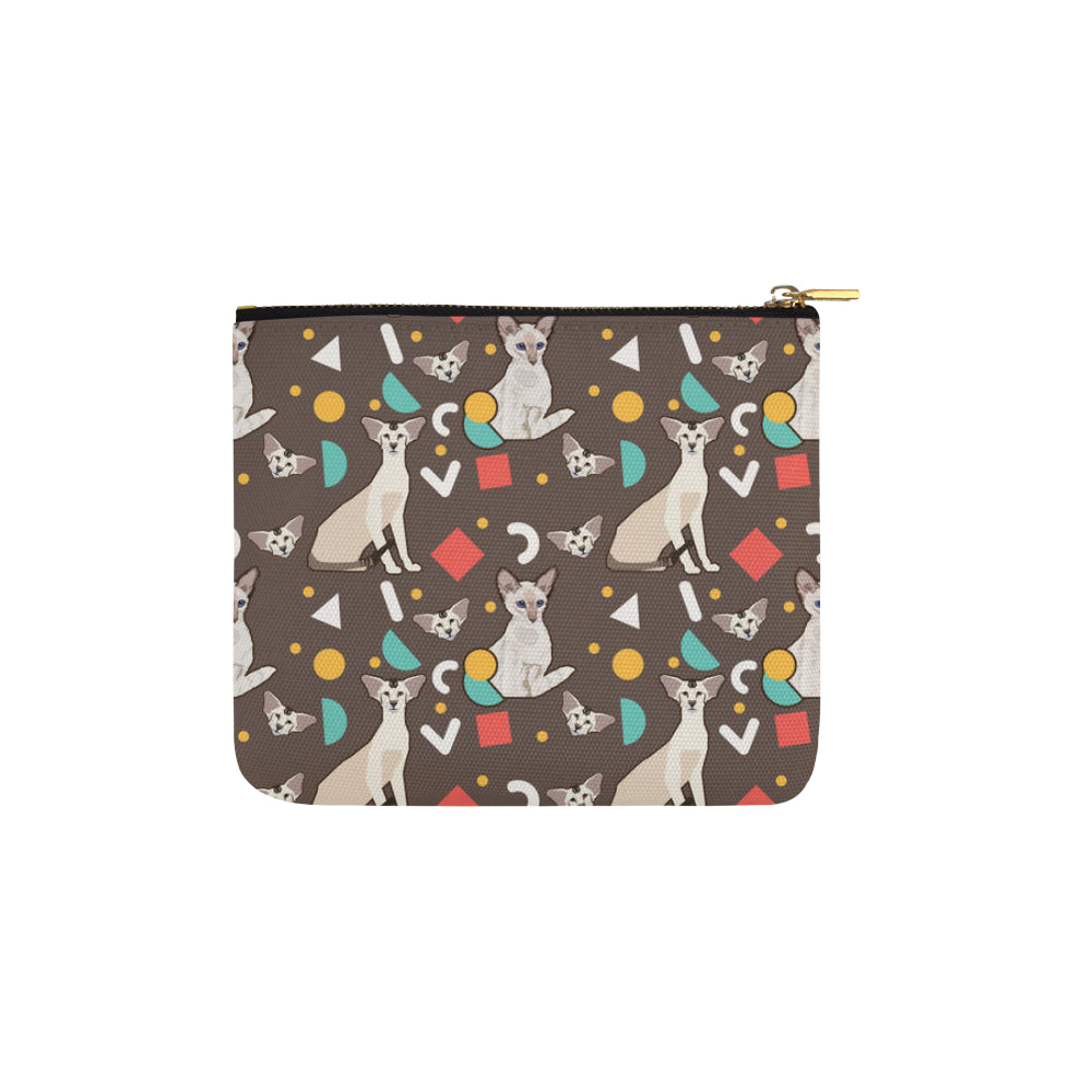 Oriental Shorthair Carry-All Pouch 6x5 - TeeAmazing