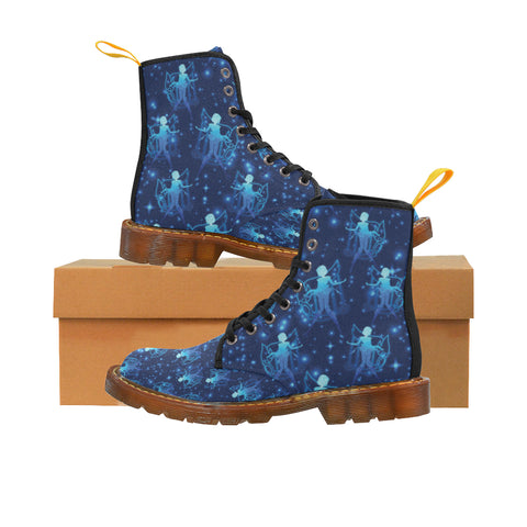 Sailor Mercury Black Martin Boots For Women - TeeAmazing
