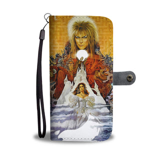 Goblin King Wallet Phone Case - Labyrinth Phone Case Wallet - TeeAmazing