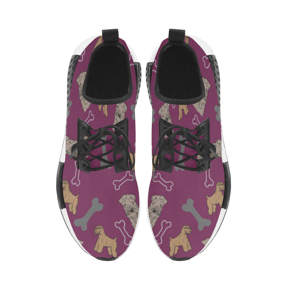 Soft Coated Wheaten Terrier Pattern Women's Draco Running Shoes - TeeAmazing