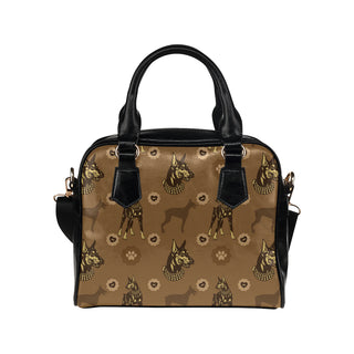 Doberman Shoulder Handbag - TeeAmazing