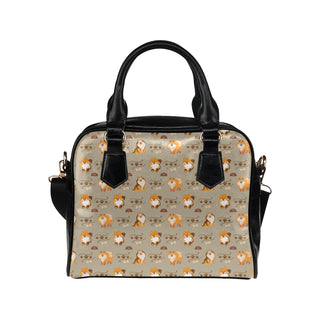 Pomeranian Pattern Shoulder Handbag - TeeAmazing