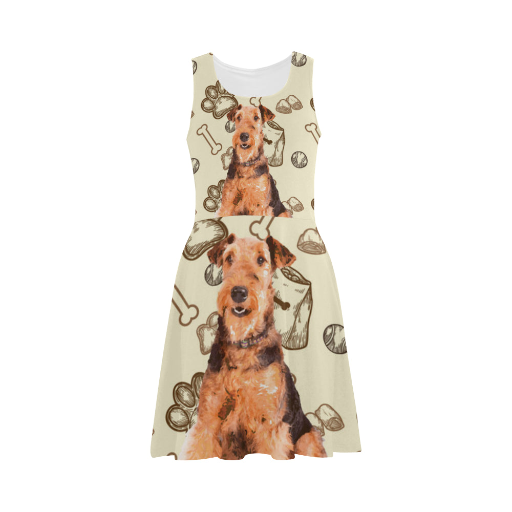 Airedale Terrier Atalanta Sundress - TeeAmazing